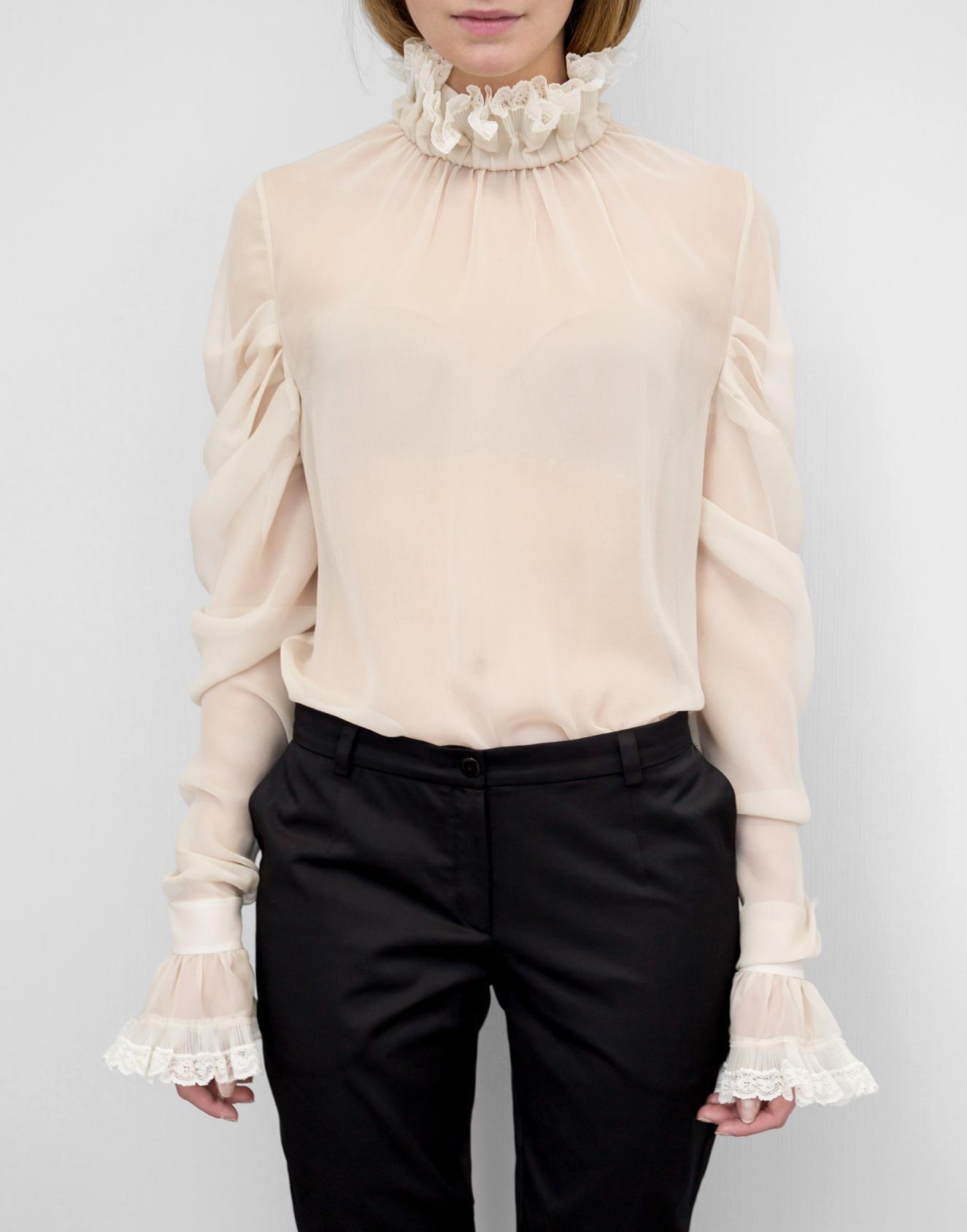блуза беж 1