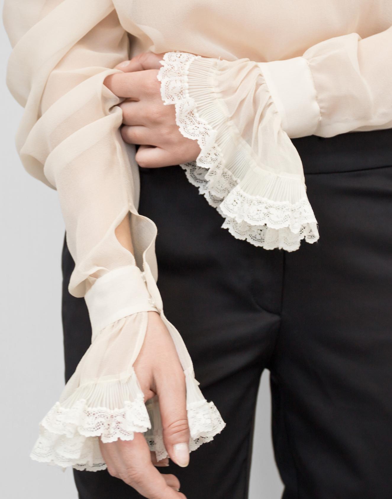 блуза беж 3