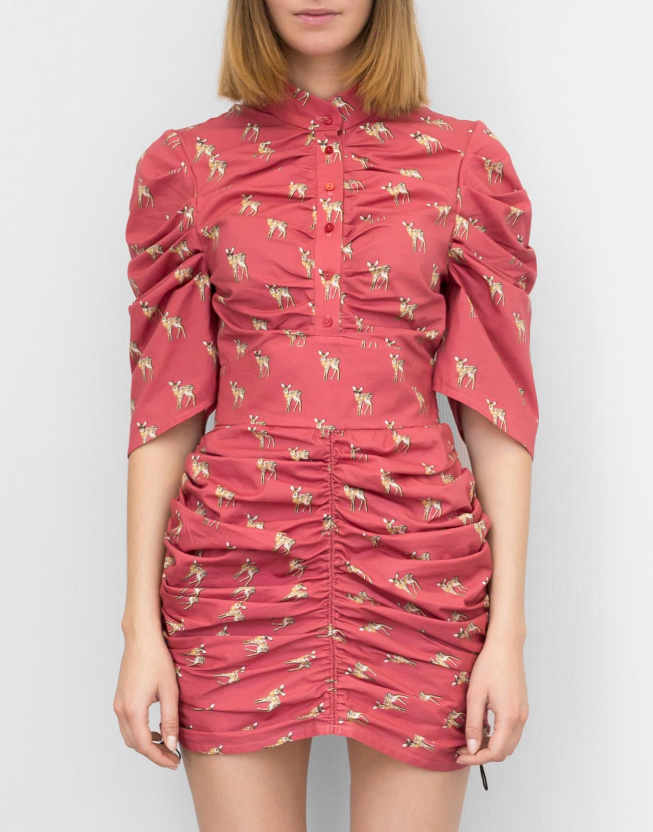 олени платье