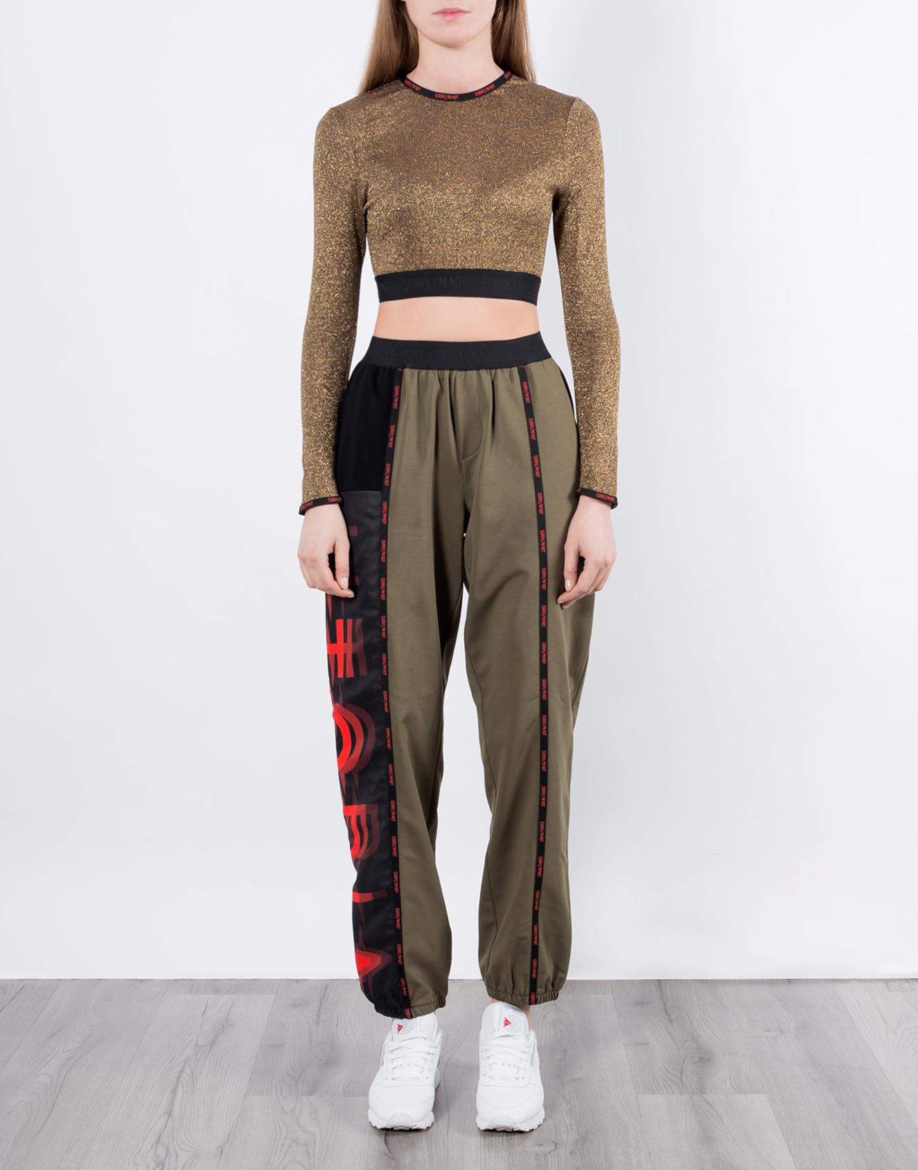 брюки хаки 3