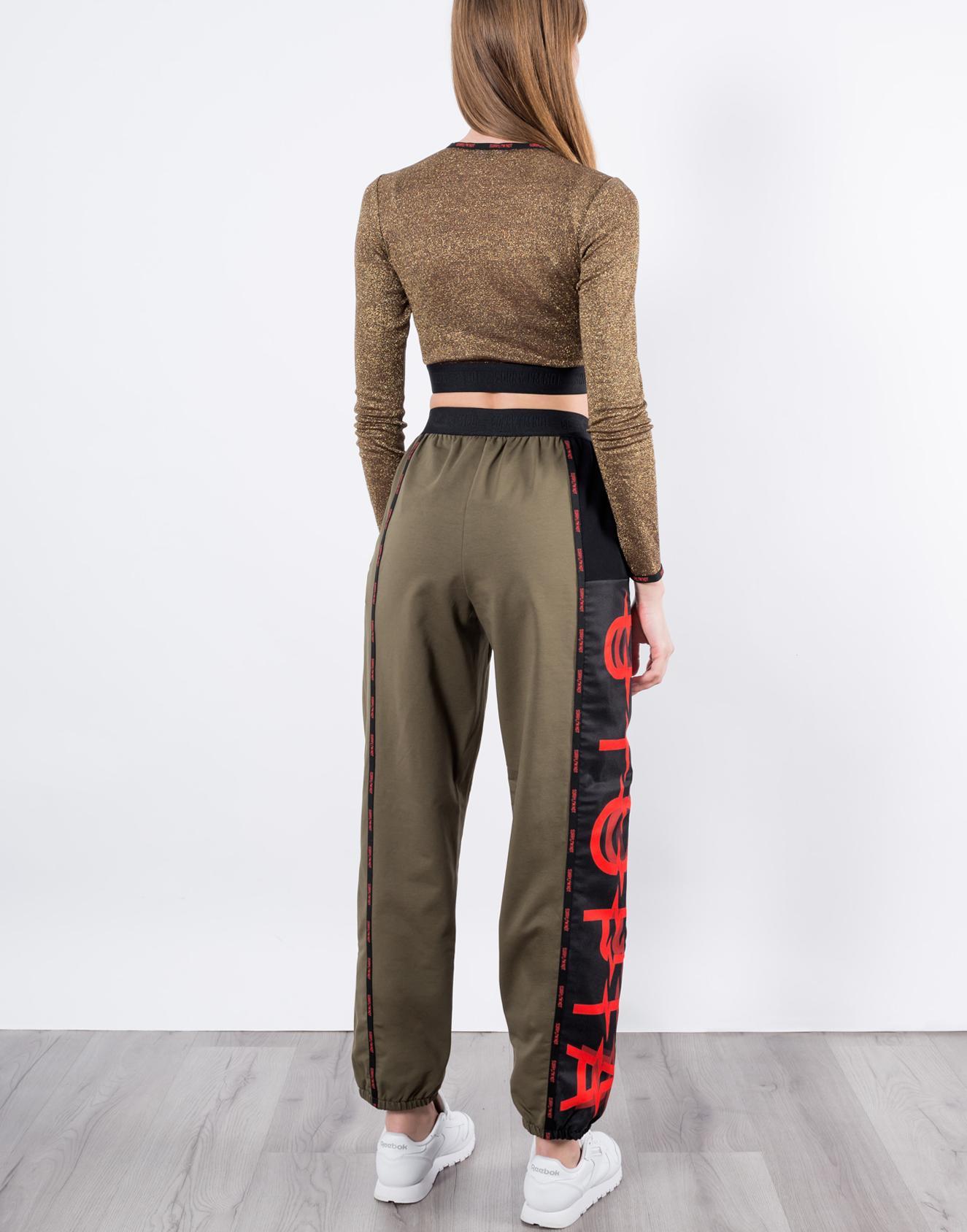 брюки хаки 4