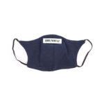 Mask stay at home dark blue