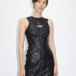 DRESS BLACK ECO-LEATHER