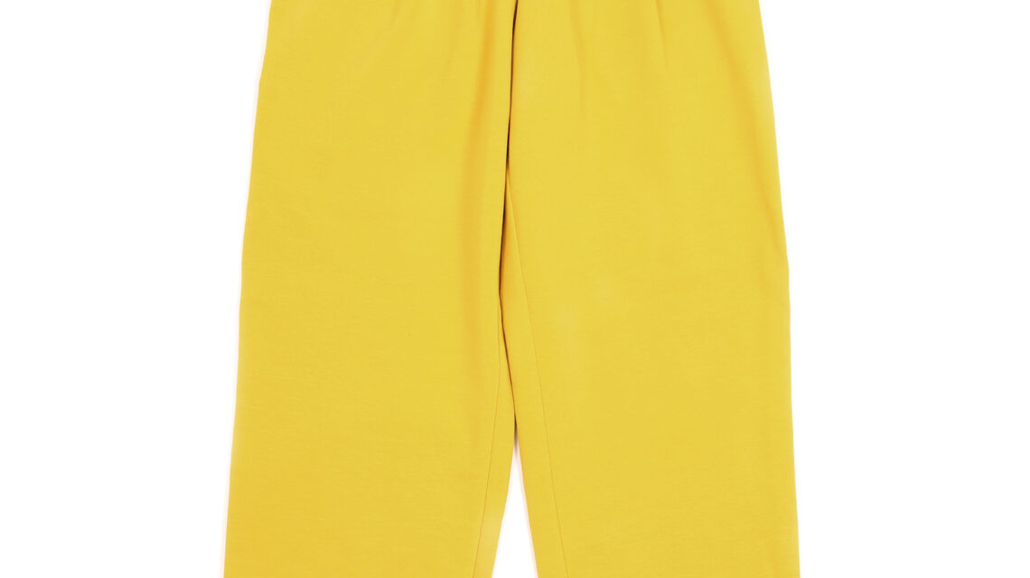 sports pants yellow