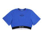 CROP-TOP ULTRAMARINE SORRY