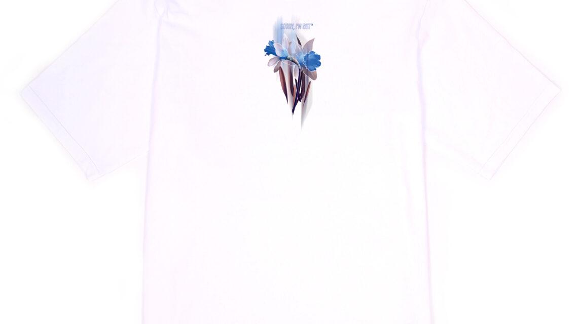 T-SHIRT NARCISSUS WHITE