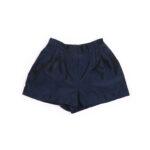 Mini Shorts Dark blue taffeta