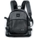 BACKPACK GREY WITH POCKET