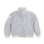 Bomber with Pockets Light Grey M